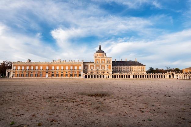 Koninklijk paleis van aranjuez, madrid, spanje. Premium Foto