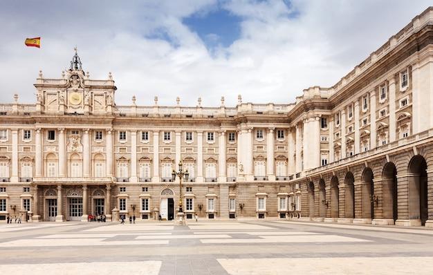 Koninklijk paleis van madrid, spanje Gratis Foto