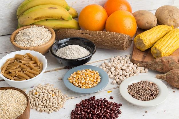 Koolhydraten Premium Foto