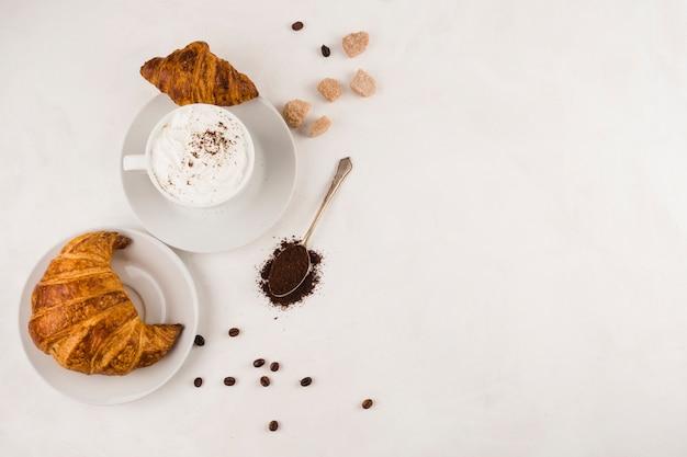 Kop heerlijke koffie Gratis Foto