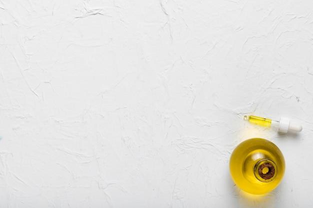 Kopie-ruimte zwoele olie essentie in spa Gratis Foto