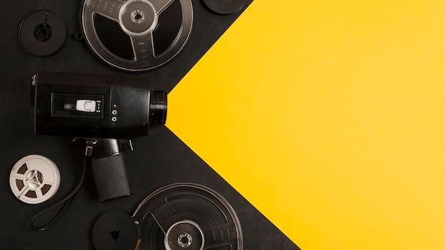 Kopieer-ruimte bioscoopapparatuur Gratis Foto