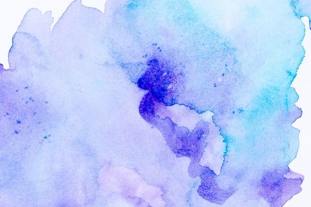 Kopieer ruimte verloop blauwe aquarel achtergrond Gratis Foto