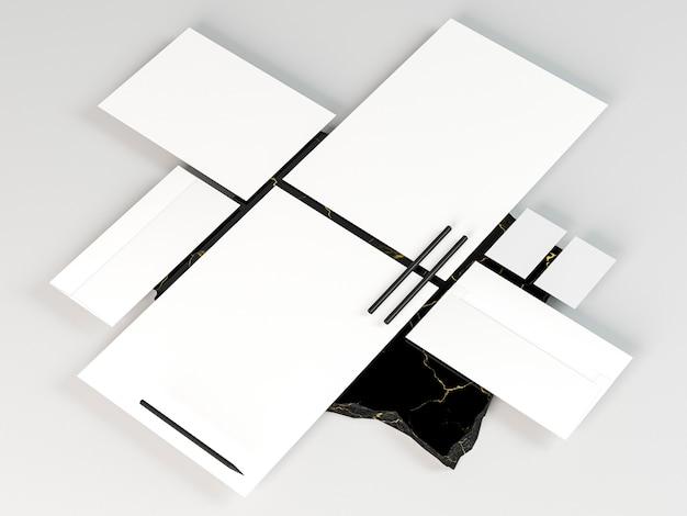 Kopieer ruimte voor zakelijke briefpapier Gratis Foto