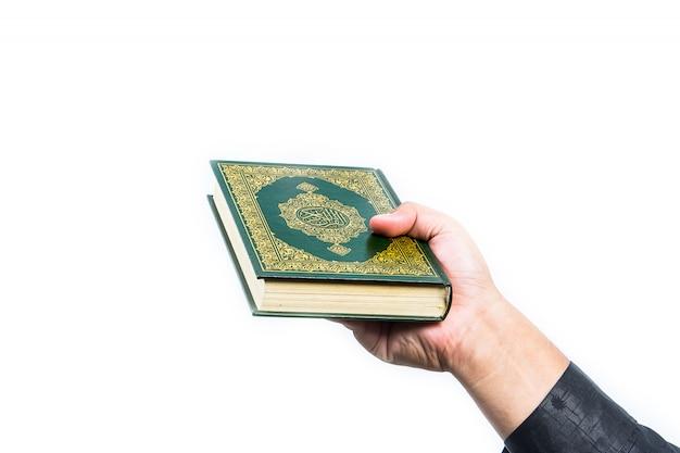 Koran, heilig boek van moslims Premium Foto