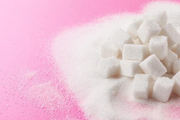 Kubussen suiker Premium Foto