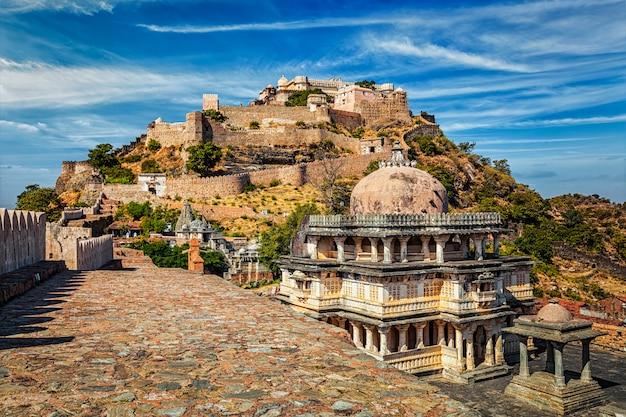 Kumbhalgarh fort, india Premium Foto