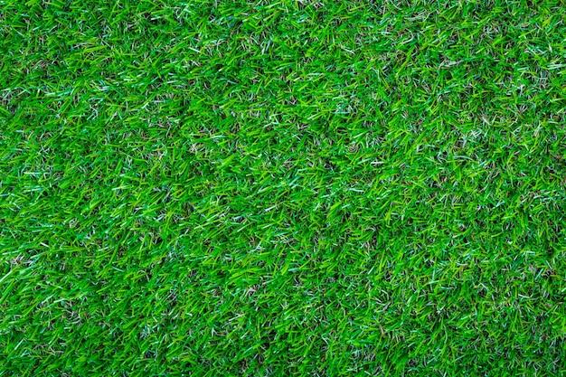 Kunstmatige groene gras achtergrond textuur Gratis Foto