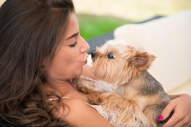 Kus, kus mijn kleine puppy's Gratis Foto