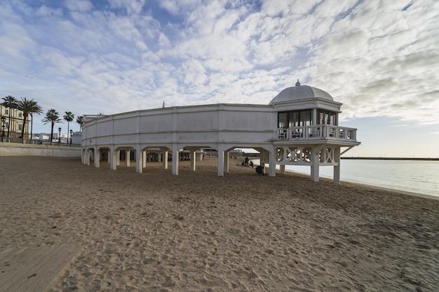 La caleta playa overdag in spanje Gratis Foto