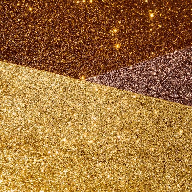 Lagen van gradiënt gouden textuur Gratis Foto