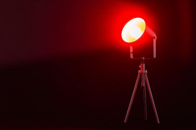 Rood Licht Lamp : Lamp met rood licht foto gratis download