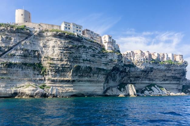 Landschap op het eiland van corsica in frankrijk Premium Foto