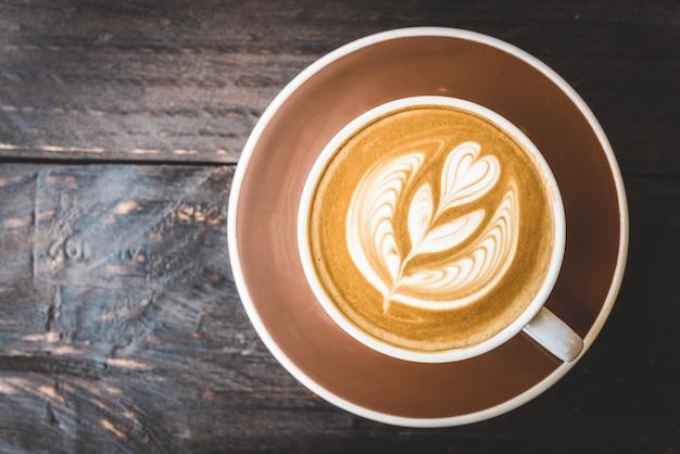 Latte koffiekop Gratis Foto