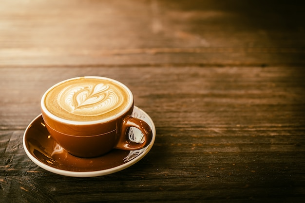 Latte koffiekopje Gratis Foto