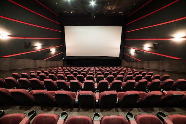 Leeg bioscoopscherm Premium Foto