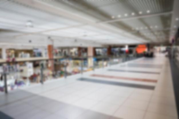 Leeg vaag winkelcomplex Gratis Foto