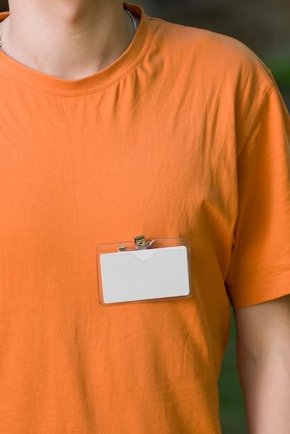 Lege badge Gratis Foto