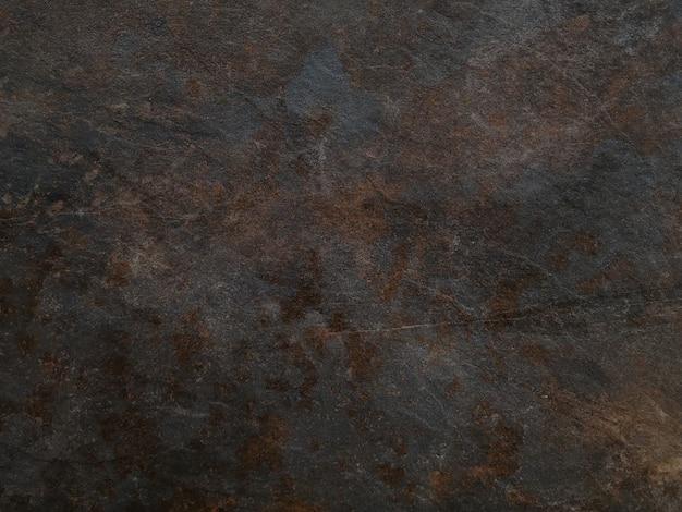 Lege bruine roestige steen of metaaloppervlaktetextuur Gratis Foto