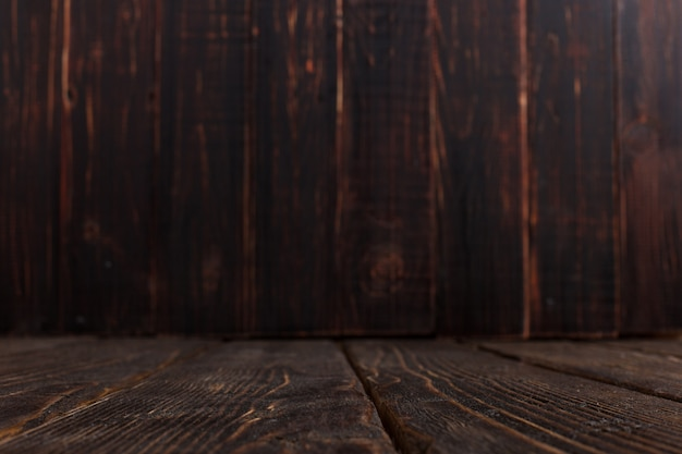 Lege oude houten achtergrond, rustiek ontwerp, copyspace. Premium Foto