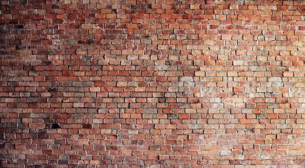 Lege rode bakstenen muur Gratis Foto