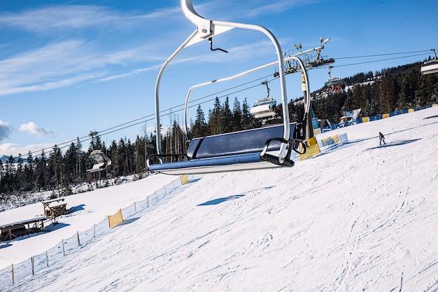 Lege skilift Premium Foto