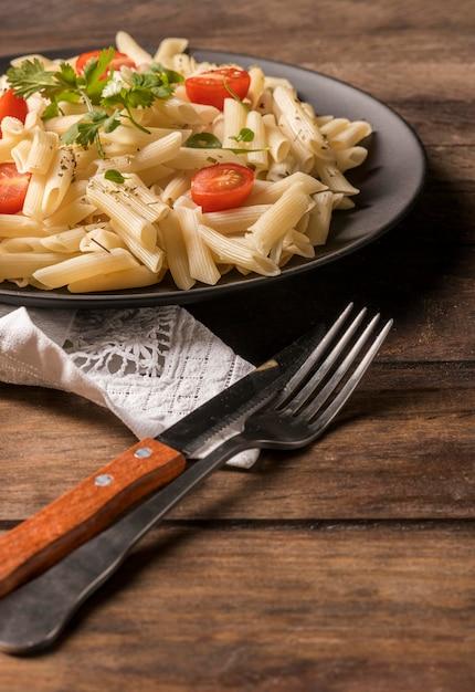 Lekkere pasta met groenten Gratis Foto