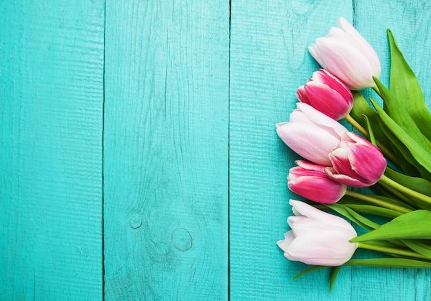Lente tulp bloemen Premium Foto