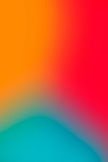 Levendige abstracte kleuren in verloop Gratis Foto