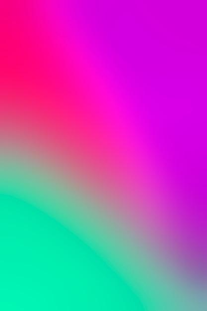 Levendige kleuren mengen en mengen Gratis Foto