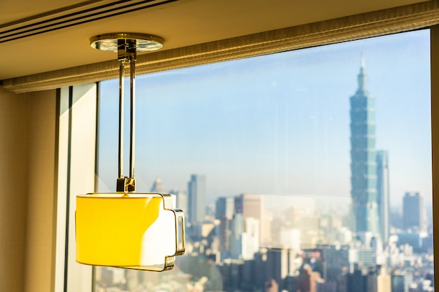 Lichte lampdecoratie in de kamer Gratis Foto