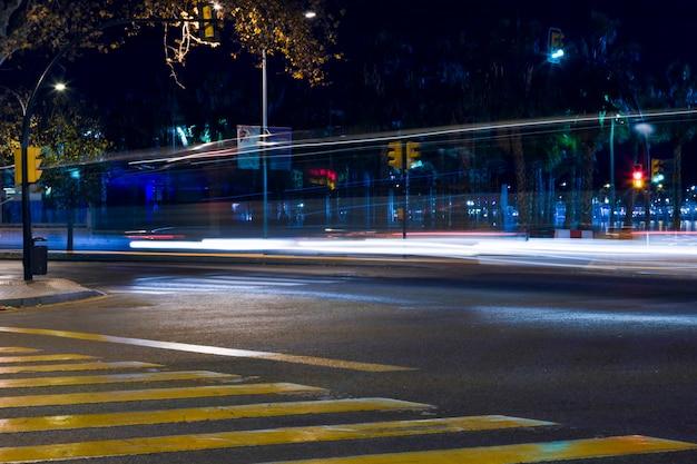 Lichten van de nacht stad Gratis Foto