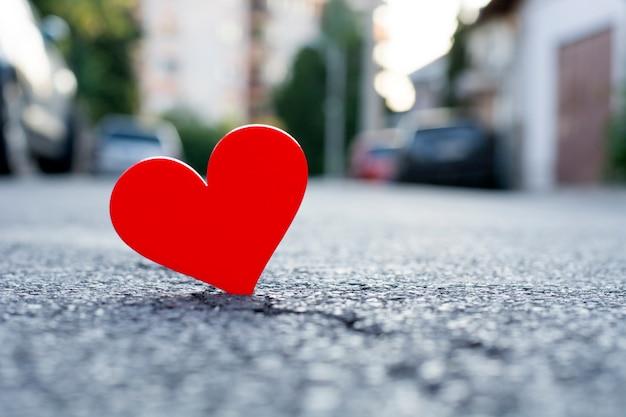 Liefde in de stad! Premium Foto