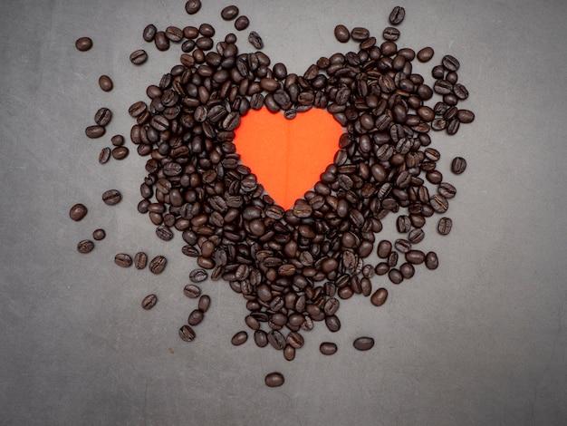 Love hart valentijnsdag banner achtergrond Premium Foto