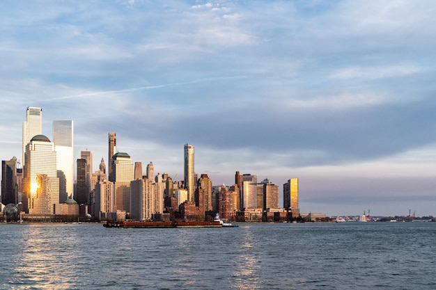 Lower manhattan new york Premium Foto