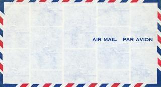 Lucht mail envelop Gratis Foto