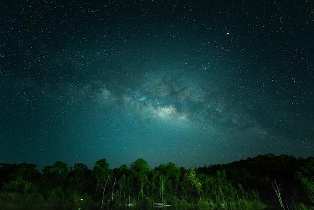 Lucht 's nachts Premium Foto