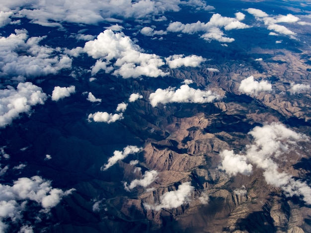 Luchtfoto van de colorado-rivier, utah Gratis Foto