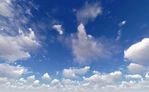 Luchtwolken. Premium Foto