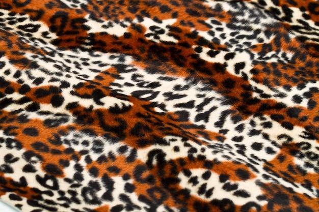 Luipaard huid patroon Premium Foto