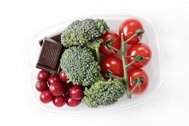 Lunchbox met gezond eten Gratis Foto