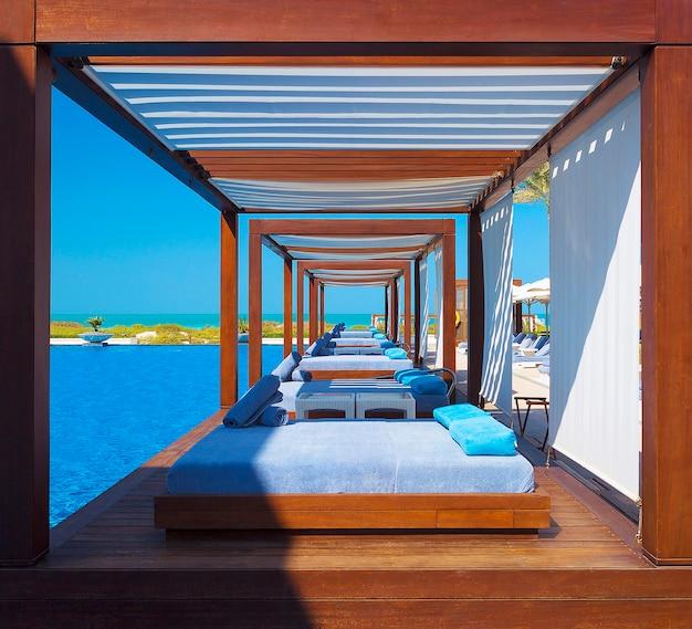 Luxe plaats resort en spa Premium Foto
