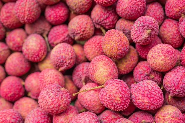 Lychee fruitclose-up Gratis Foto