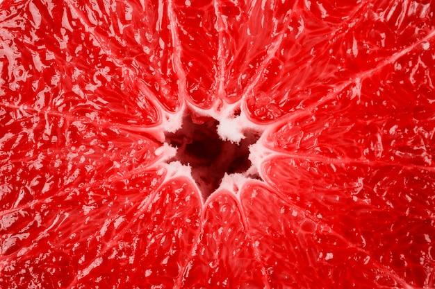 Macro van grapefruitstructuur als achtergrond Gratis Foto