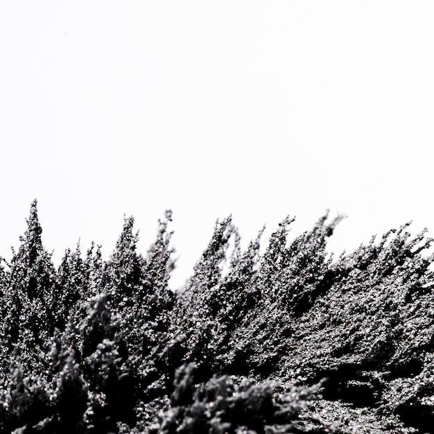 Magnetische metalen scheren op een witte achtergrond Gratis Foto