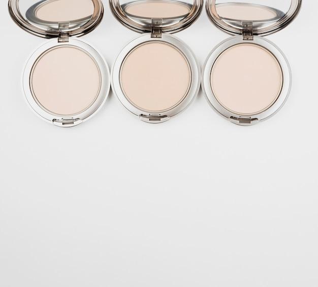 Make-up collectie met kopie ruimte Gratis Foto
