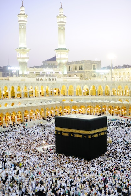 Makkah kaaba hajj moslims Premium Foto
