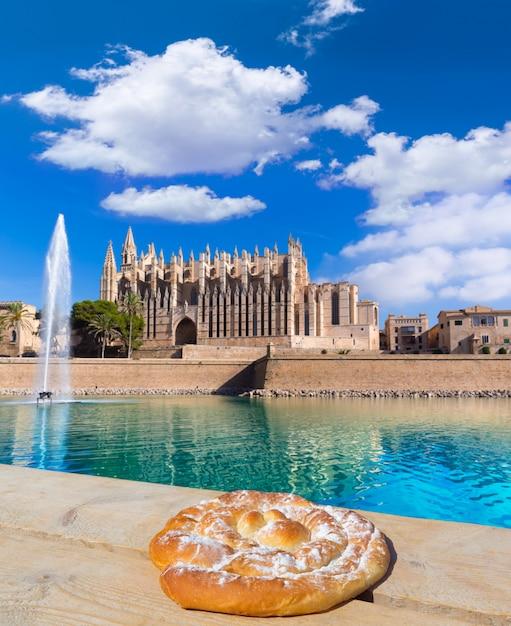 Mallorca kathedraal van palma seu seo van mallorca Premium Foto