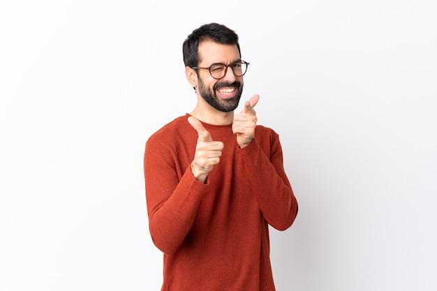 Man met bril Premium Foto