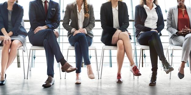 Management carrière achievement opportunity concept Premium Foto